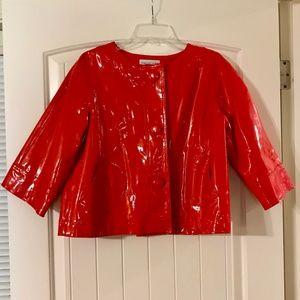 Newport News RED Swing Jacket Christmas Holiday
